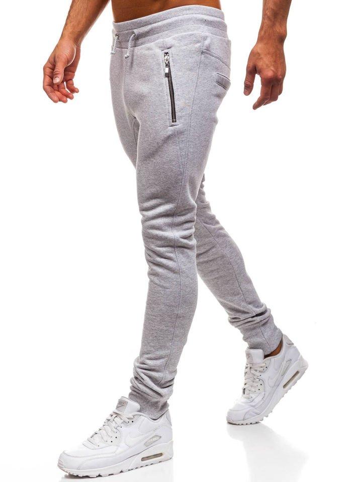Чоловічі спортивні штани багі сірі Bolf 43S-S SZARY 44e1694fd42b5