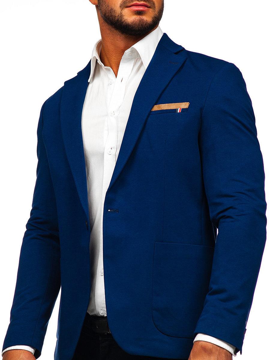 Піджак чоловічий RIPRO 1652 синій СИНІЙ 82e89e4a20249