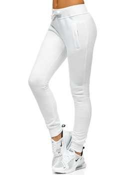 Белые женские спортивные брюки Bolf CK-01