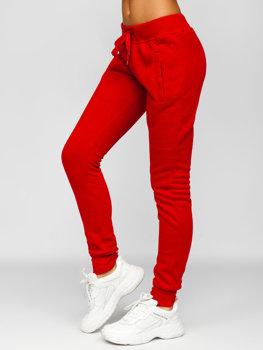 Бордовые женские спортивные брюки Bolf CK-01