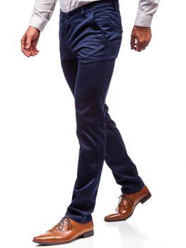 Брюки мужские синие Bolf 7623