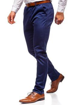 Брюки чинос мужские темно-синие Bolf KA968