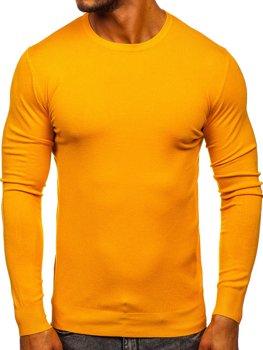 Желтый мужской свитер Bolf YY01
