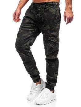 Зеленые мужские брюки джоггеры карго Bolf CT6026S0