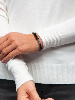 Коричневый женский браслет Bolf B030