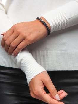Коричневый женский браслет Bolf B032