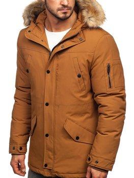 Куртка мужская зимняя кэмел Bolf 1972