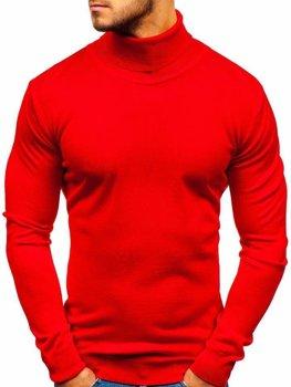 Мужская водолазка красная Bolf 2400