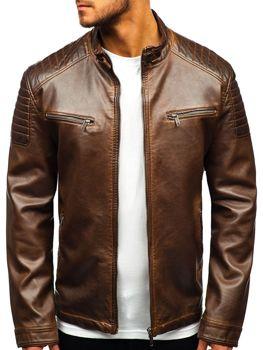 15fda77f0 Кожаные куртки мужские купить в Киеве — интернет-магазин bolf.ua