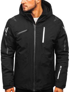 Мужская лыжная куртка черная Bolf 5941