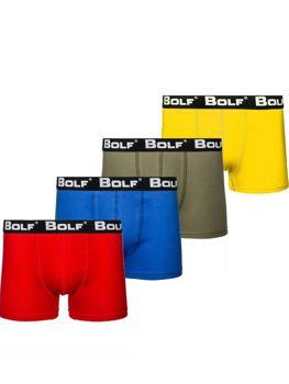 Мужские боксеры мультиколор Bolf 0953-4P 4 PACK