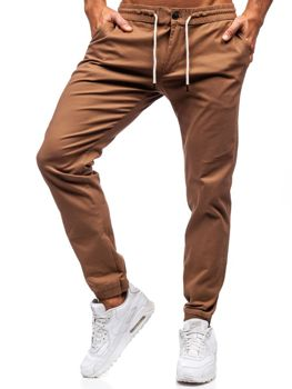 Мужские брюки джоггеры кэмел Bolf 1121
