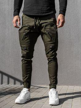 Мужские брюки джоггеры синие Bolf 0956