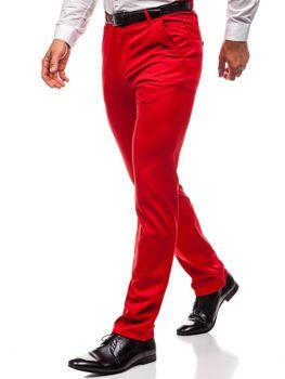 Мужские брюки красные Bolf 3186