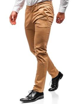 Мужские брюки чинос кэмел Bolf 2901