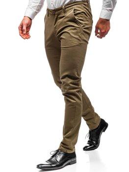 Мужские брюки чинос хаки Bolf 2901