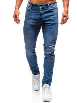 Мужские джинсовые брюки синие Bolf 7160-A
