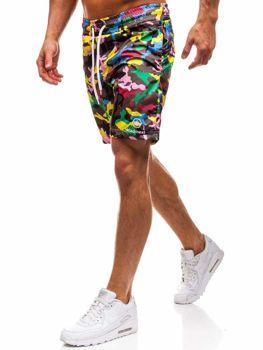 Мужские пляжные шорты мультиколор Bolf K1950B