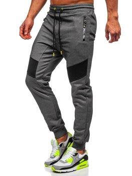 Мужские спортивные брюки графитовые Bolf TC878