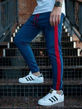 Мужские спортивные брюки джоггеры индиго Bolf 11120