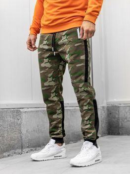 Мужские спортивные брюки камуфляж мультиколор Bolf 3783A
