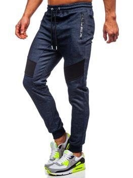 Мужские спортивные брюки темно-синие Bolf TC878