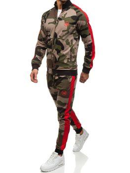 Мужской спортивный костюм зеленый Bolf 0944