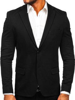 Мужской элегантный пиджак черный Bolf SR2003