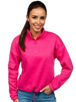 Розовая женская толстовка Bolf KSW2029
