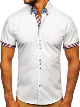 Рубашка мужская BOLF 3507 белая