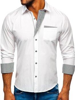Рубашка мужская BOLF 4713 белая
