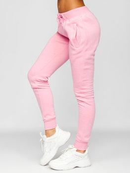 Светло-розовые женские спортивные брюки Bolf CK-01