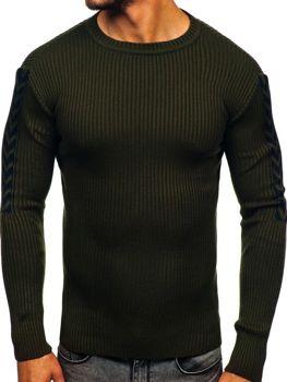 Свитер мужской зеленый Bolf 360