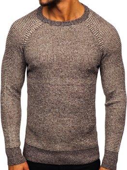 Свитер мужской коричневый Bolf H1932