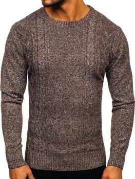 Свитер мужской коричневый Bolf H1937