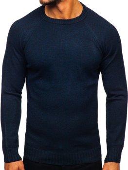 Свитер мужской темно-синий Bolf H1929