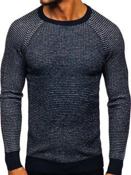 Свитер мужской темно-синий Bolf H1932