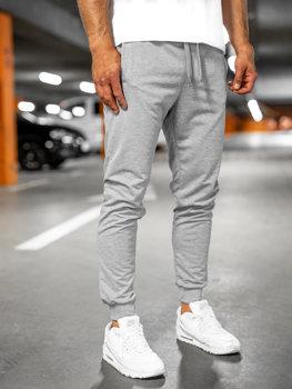 Серые мужские спортивные брюки Bolf 68K10001