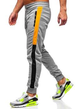 Серые мужские спортивные брюки Bolf HI8991
