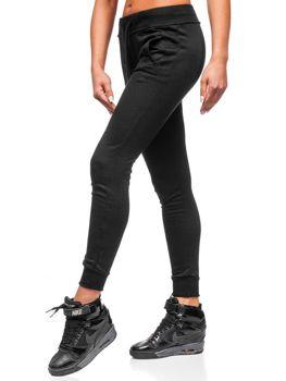 Спортивные штаны женские черные Bolf WB11003-А