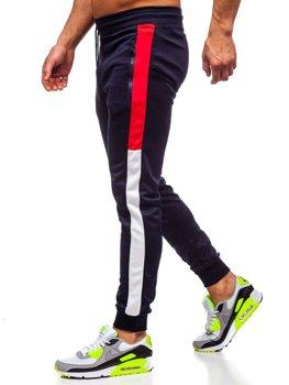 Темно-синие мужские спортивные брюки Bolf HI8991