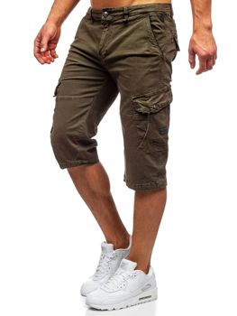 Хаки мужские шорты карго Bolf QS805