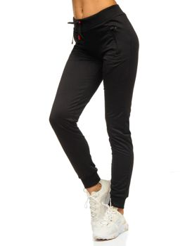 Черные женские черные спортивные штаны Bolf 1