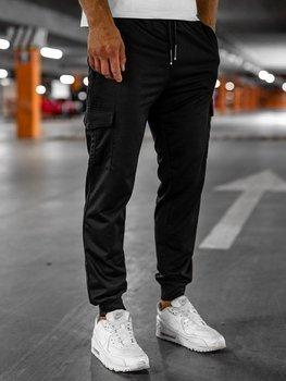 Черные мужские спортивные брюки Bolf JX326