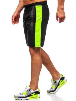 Черные мужские спортивные шорты Bolf KS2521