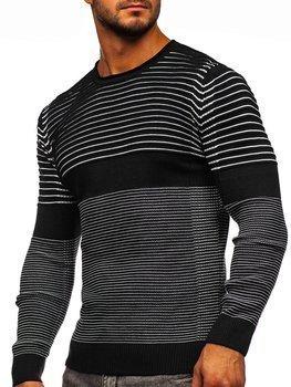Черный мужской свитер Bolf 1014