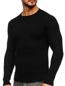 Черный мужской свитер Bolf 4608