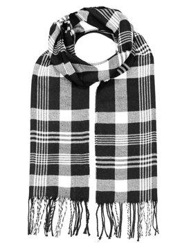 Черный мужской шарф Bolf YW08053
