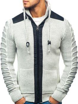 Чоловічий светр екрю Bolf 20010