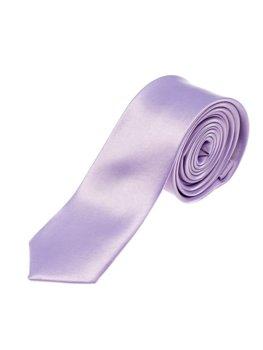 Элегантный мужской галстук фиолетовый Bolf K001